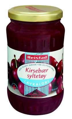 Prøv også Heistad kirsebærsyltetøy.