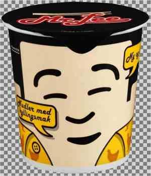 Prøv også Mr Lee kopp nudler m kyllingsmak.