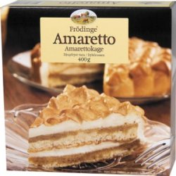 Bilde av Frødinge amaretto kake.