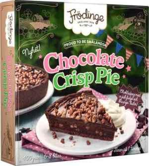 Prøv også Frödinge chocolate crisp pie.