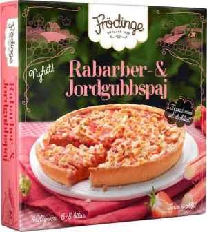 Prøv også Frödinge rabarbra og jordbærpai.