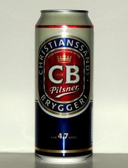 Bilde av CB Pilsnerøl.