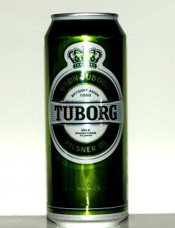 Bilde av Tuborg pilsner.