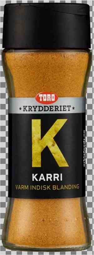 Prøv også Toro Krydderiet Karri.