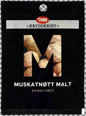 Prøv også Toro Krydderiet Muskatnøtt Malt.