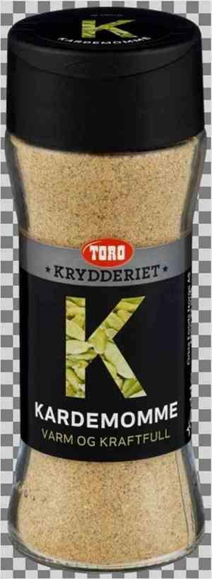 Prøv også Toro Krydderiet Kardemomme malt.
