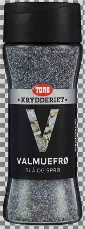 Prøv også Toro Krydderiet Valmuefrø Blå.