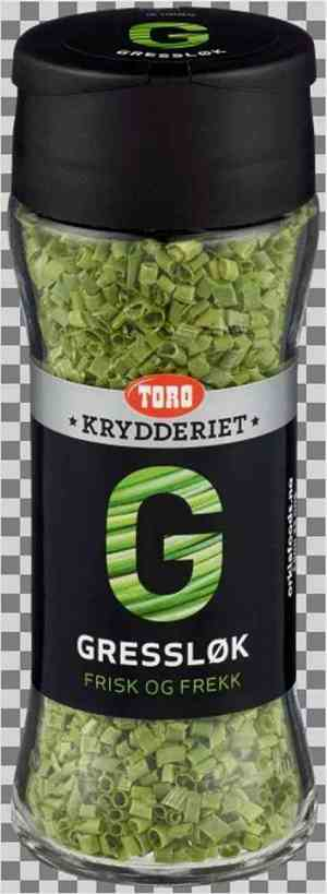Prøv også Toro krydderiet Gressløk.