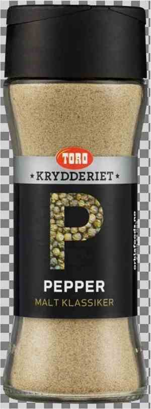 Prøv også Toro Krydderiet pepper sort malt.