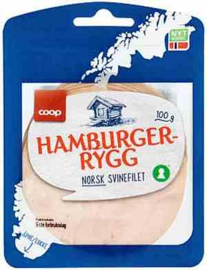 Prøv også Coop Hamburgerrygg.