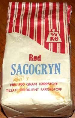 Prøv også Sagogryn.