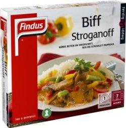Prøv også Findus Biff Stroganoff 380g.