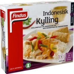 Bilde av Findus Indonesisk Kylling 380g.