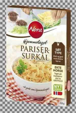 Prøv også Noras hjemmelaget parisersurkål.
