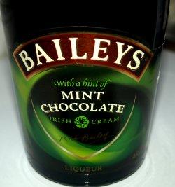 Prøv også Baileys mint chocolate.