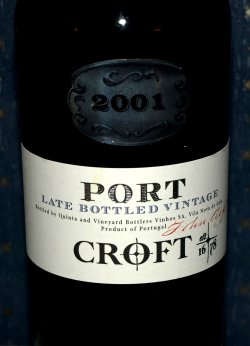 Bilde av Croft port late bottled vintage 2001.