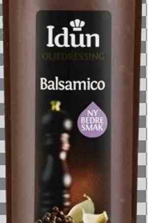 Prøv også Idun balsamico dressing.