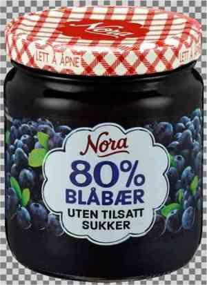 Prøv også Nora Blåbærsyltetøy uten tilsatt sukker.