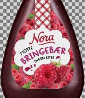 Prøv også Nora Bringebærsyltetøy Squeezy.