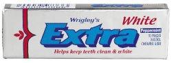 Bilde av Wrigleys Extra White Peppermint.