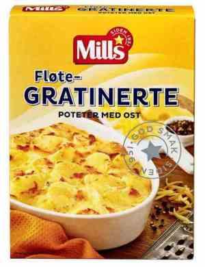 Prøv også Mills fløtegratinerte poteter med ost.
