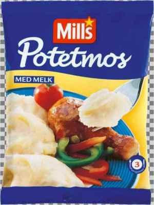 Prøv også Mills potemos med melk.