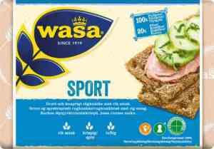 Prøv også Wasa sport.