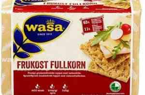 Prøv også Wasa Frukost Fullkorn.