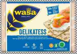 Prøv også Wasa Delikatess Sesam.