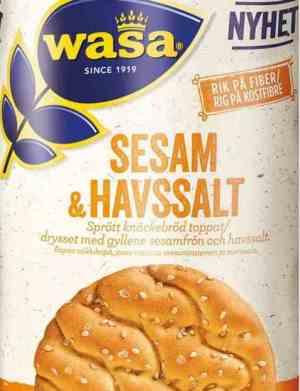Prøv også Wasa Sesam & Havsalt.