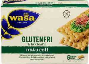 Prøv også Wasa Gluten- & laktosfritt.