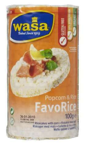 Bilde av Wasa favorice popcorn.
