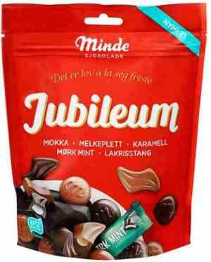 Bilde av Minde sjokolade jubileum.