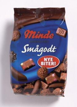 Bilde av Minde sjokolade smågodt.