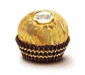 Prøv også Ferrero Rocher.
