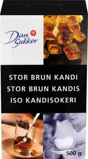 Prøv også Dansukker Stor Brun Kandis.