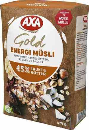 Prøv også AXA Gold Energimusli.