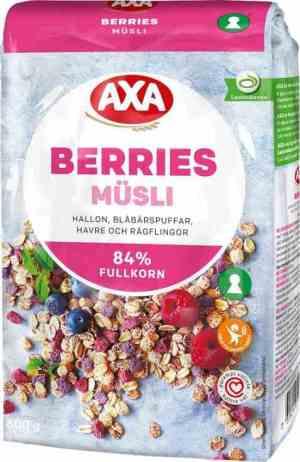 Prøv også AXA Berries müsli.