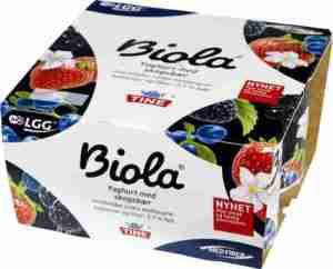 Prøv også Tine Biola Yoghurt Skogsbær.