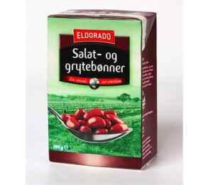Prøv også Eldorado hermetiske salat og grytebønner.