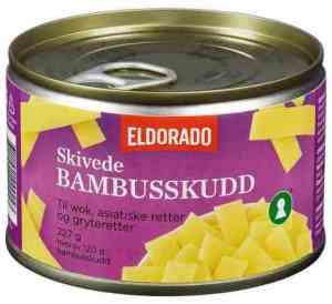 Prøv også Eldorado bambusskudd i vann.