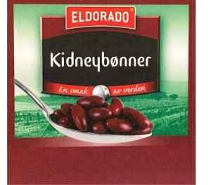 Bilde av Eldorado hermetiske røde kidney bønner.