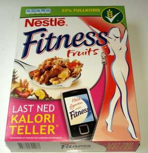 Bilde av Nestle Fitness Fruits.