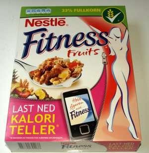 Prøv også Nestle Fitness Fruits.