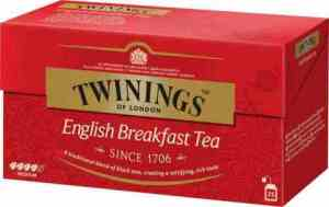 Prøv også Twinings English Breakfast tea.