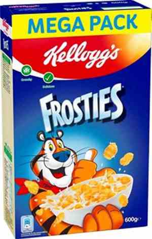 Prøv også Kelloggs Frosties.