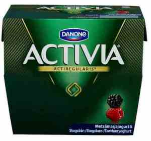Prøv også Danone Activia Skogsbær.