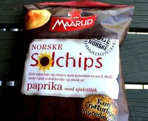 Bilde av Maarud solchips paprika med sjalottlauk.