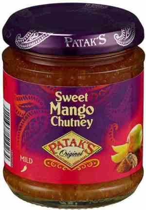 Prøv også Pataks Sweet Mango Chutney.