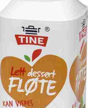 Prøv også Tine Lett Dessertfløte.